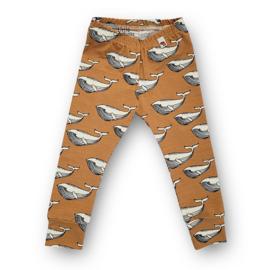 Leggings Whales (toffee)
