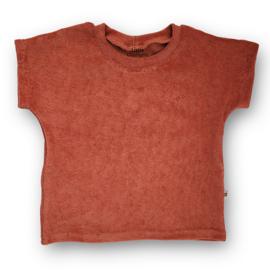 Baggy shirt Towel Terry (cedar wood)