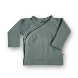 Overslag shirt Rib (Sagebush Green)