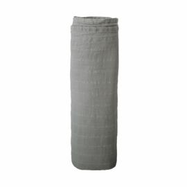 Hydrofiele Swaddle Blanket | 100% Organic Cotton (Belgian Grey)
