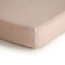Hydrofiele Crib Sheet | 100% Organic Cotton (Blush)