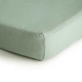 Hydrofiele Crib Sheet | 100% Organic Cotton (Sage)