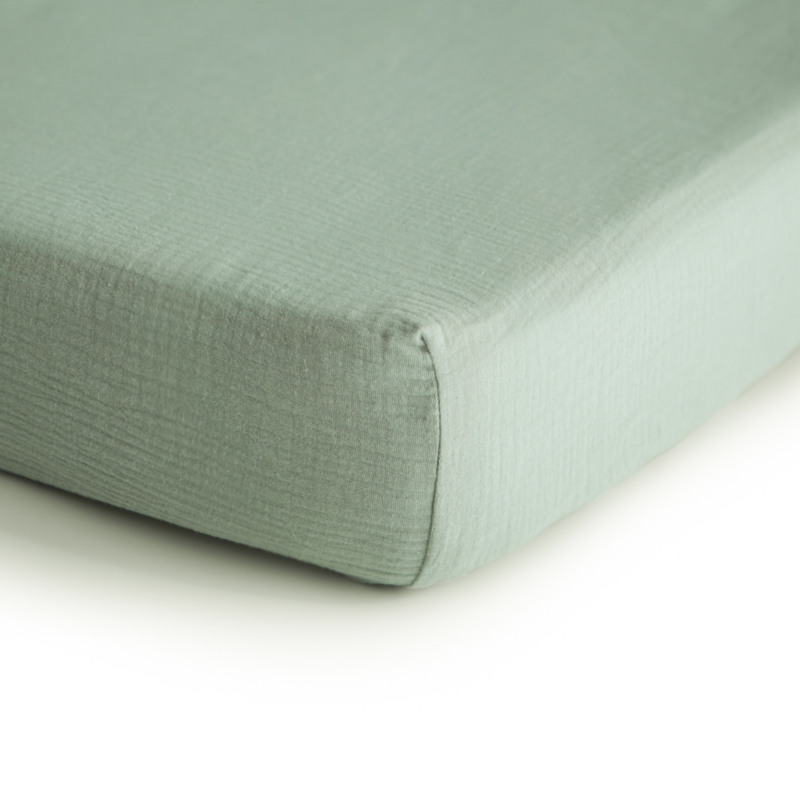 Hydrofiele Crib Sheet | 100% Organic Cotton (Sage)