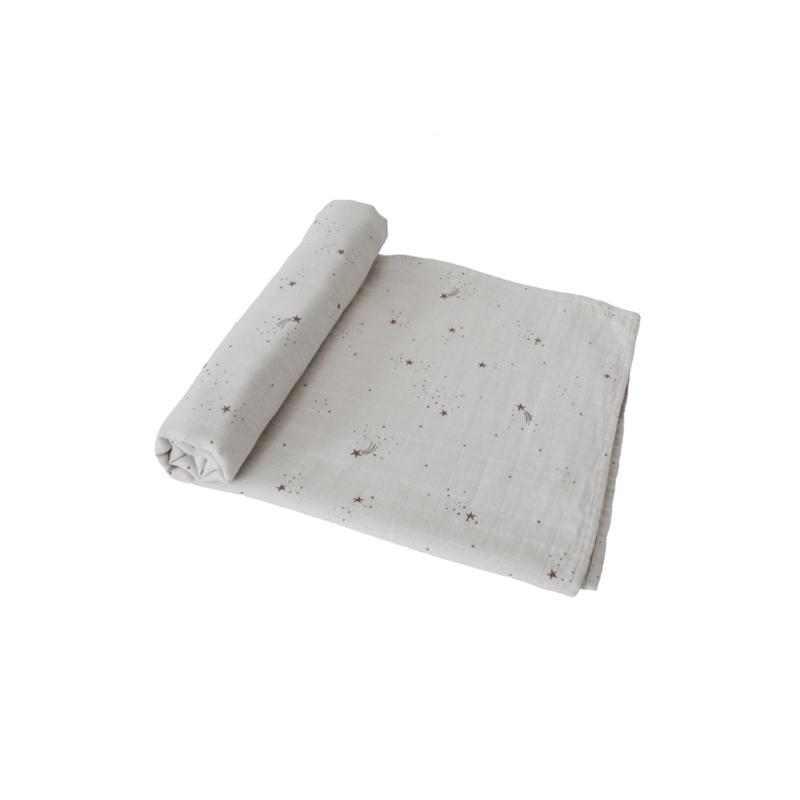 Hydrofiele Swaddle Blanket   100% Organic Cotton (Falling Stars)