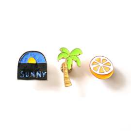 Sunny pins