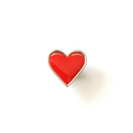 Heart pin