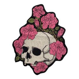 XL Floral skull