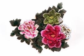 XL 3D floral