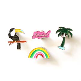 Tropical pins