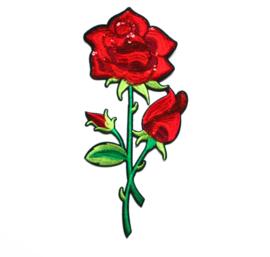 XL sequin roses