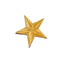 XL gold star