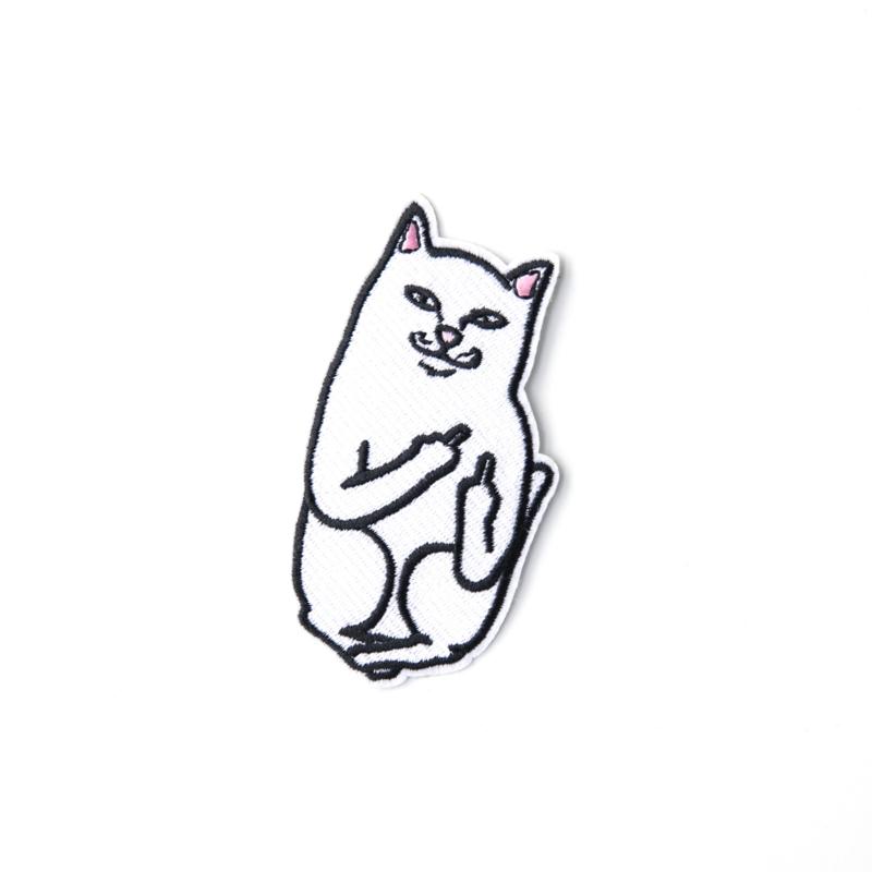 Middle finger cat