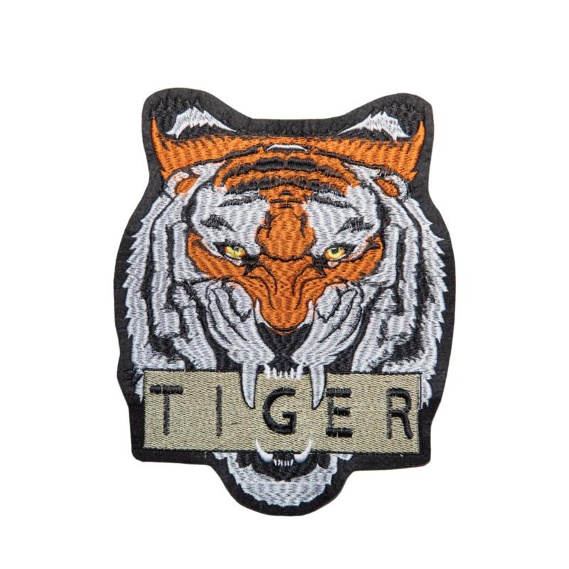 XL tiger text