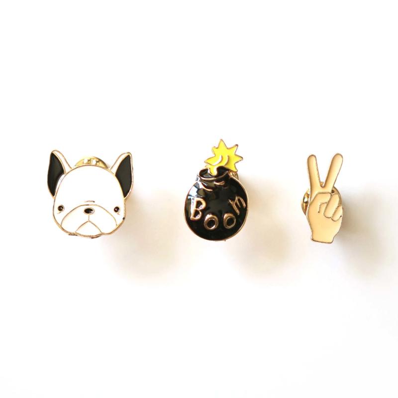 Dog pins