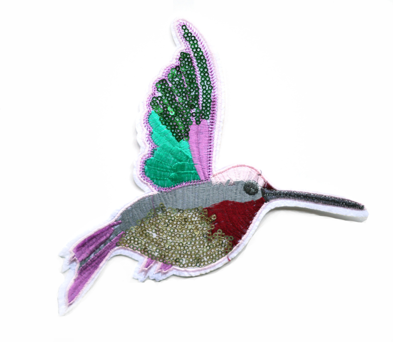 Sequin bird