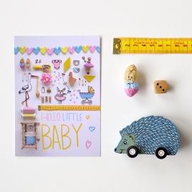 'Hello Little Baby' kaart