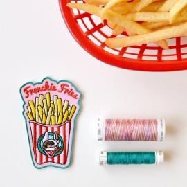 Frenchie Fries geborduurd embleem