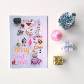 Kerstkaart 'verzameling'
