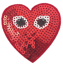 HEART WITH EYES PATCH