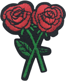 TWIN ROSE PATCH