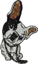 FRANSE BULLDOG XXL PATCH