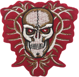 RED BROWN SKULL