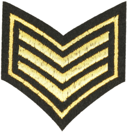 RANK ARMY PATCH
