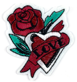 BORDEAUX LOVE BLOEMEN PATCH