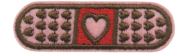 PLEISTER HART PATCH