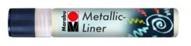 METALLIC LINERS WHITE