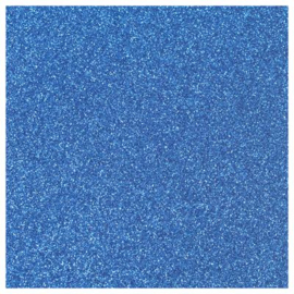 BLUE GLITTER FLEX HEAT TRANSFER A4