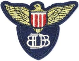 EMBLEM BLUE PATCH