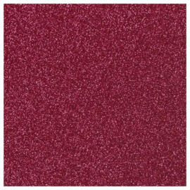 BURGUNDY GLITTER FLEX HEAT TRANSFER VINYL A4