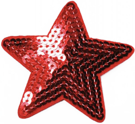 STAR RED PATCH