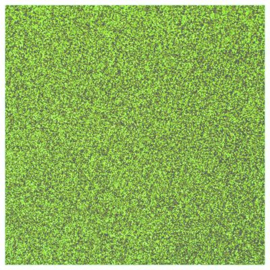 LIGHT GREEN GLITTER HEAT TRANSFER VINYL A4