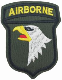 AIRBORNE GREEN EMBLEM  PATCH