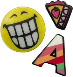 SMILEY REGENBOGEN PIN SET