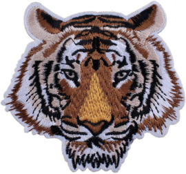 BROWN TIGER PATCH