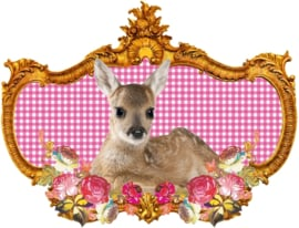 BAMBI'S SECRET GOLDEN GARDEN STRIJKAPPLICATIE
