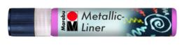 METALLIC LINER ROZE