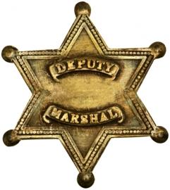 SHERIFF STERN BÜGELBILD