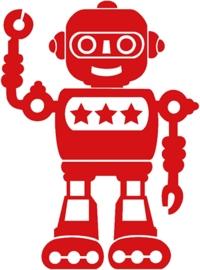 ROBOTER BÜGELBILD