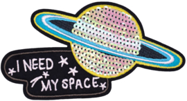 I NEED MY SPACE XL PATCH