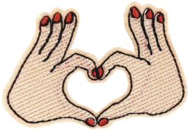 HANDS HEART PATCH