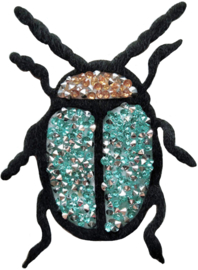 TURQUOISE STRASS KEVER PATCH