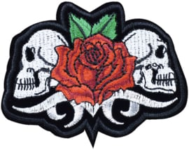 SKULL TWINS FLOWER PATCH
