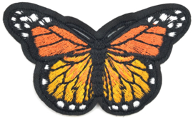 ORANGE BUTTERFLY M PATCH