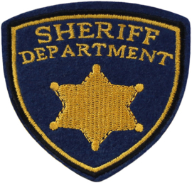 SHERIFF DEPARTMENT PATCH