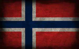 FLAG NORWAY IRON ON TRANSFER