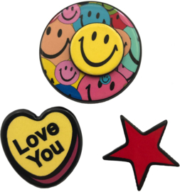 LOVE YOU STAR PIN SET